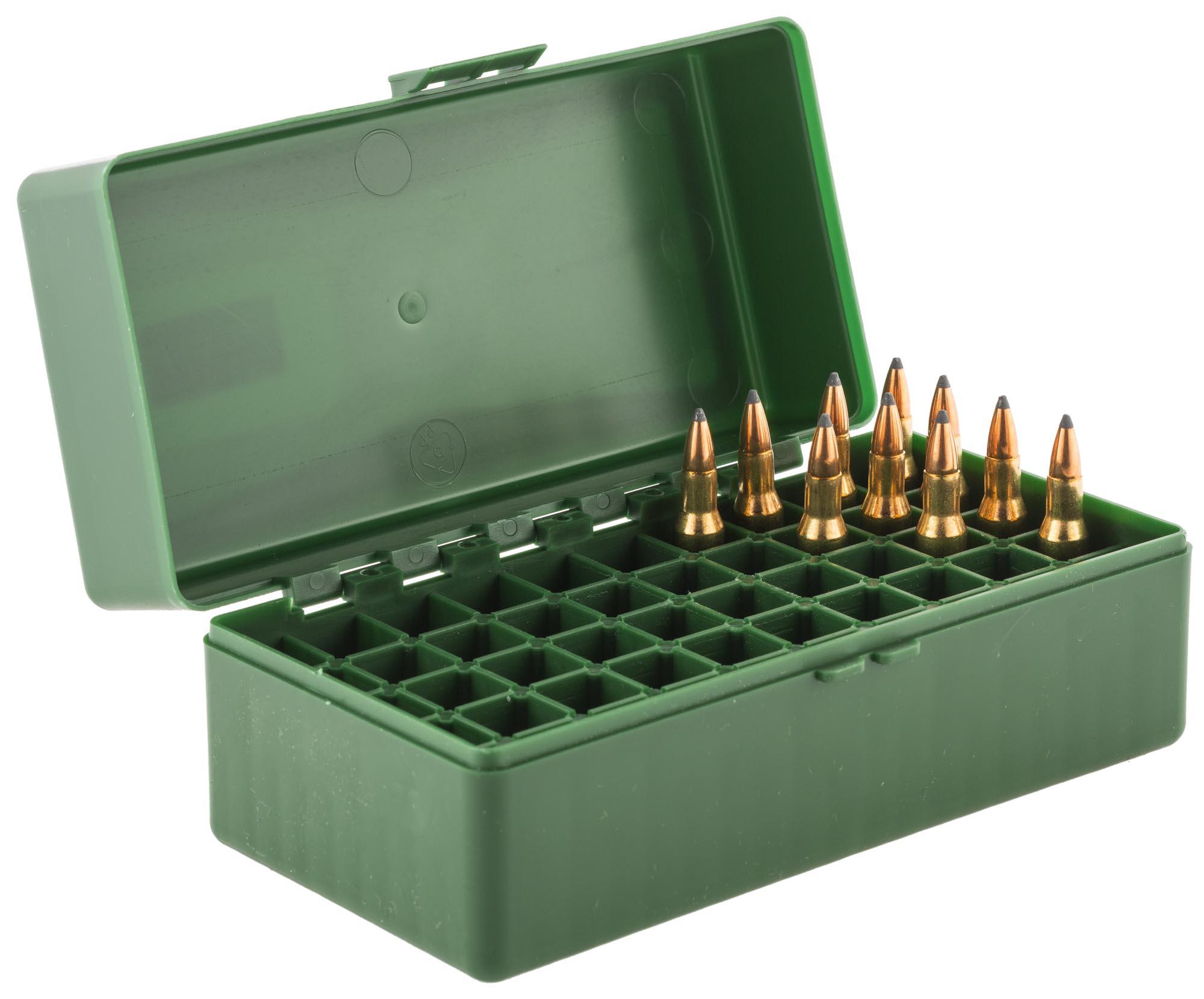 MAL0321 - boîte mégaline de rangement 50 munitions 222 / 223 Mégaline MAL0321 : Vente de ...