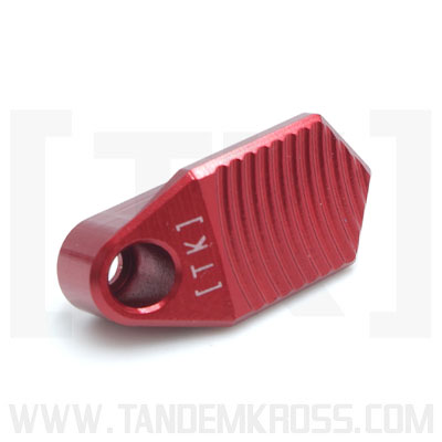 TK28N0349RED1 - tandemkross Titan Extended Magazine Release for Ruger® PC Carbine™RED