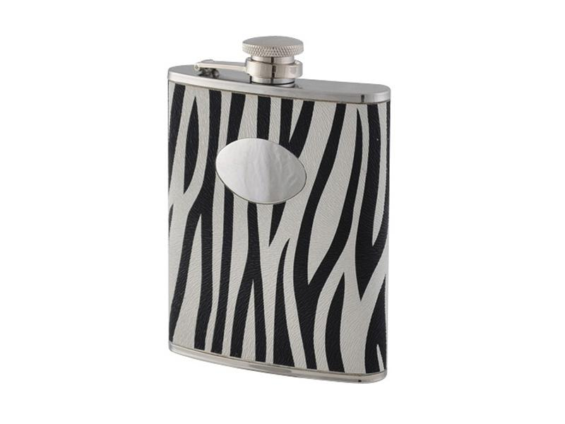 Bel 11667 Flasque Inox Gainee Decor Zebre 180ml Bel 11667 Vente De