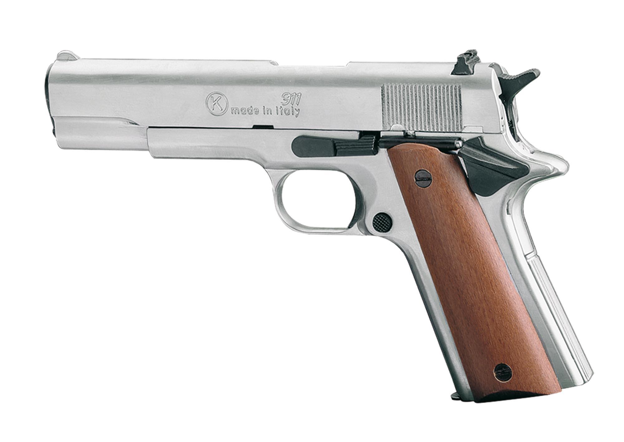 eaab221 chiappa pistolet 9 mm blanc 911 nickel chiappa. Black Bedroom Furniture Sets. Home Design Ideas