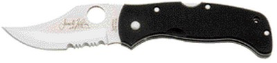 SC63GPS - Spyderco Chinook Lockback Partly Serrated